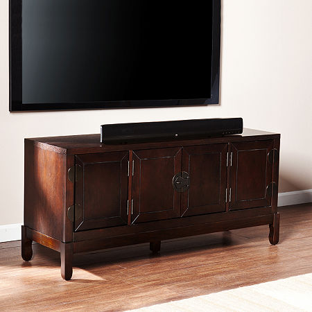 Didspear Media Cabinet, One Size , Brown