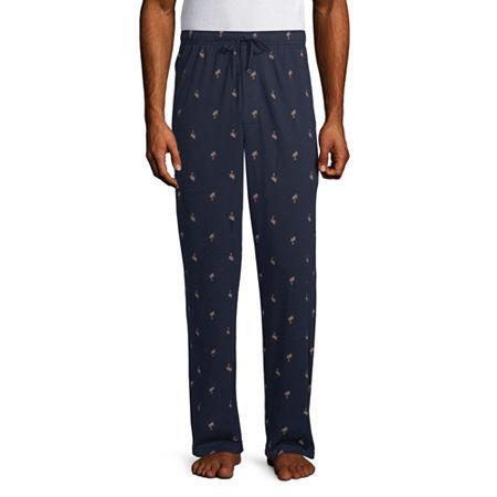 Stafford Mens Pajama Pants, Xx-large Tall , Blue