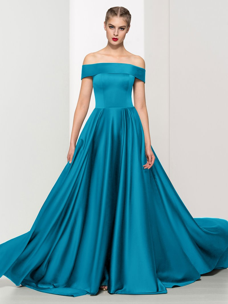 Ericdress A-Line Off-The-Shoulder Timeless Evening Dress