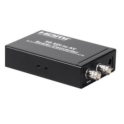Professional Grade 3G-SDI to AV Scaler Converter - Monoprice®