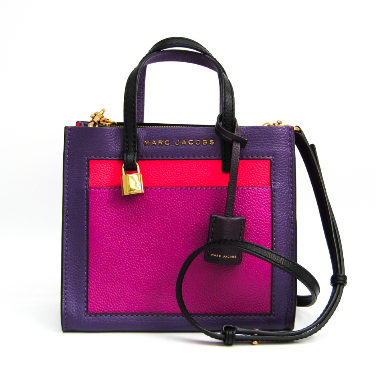 Marc By Marc Jacobs \N Handtasche in  Lila Leder