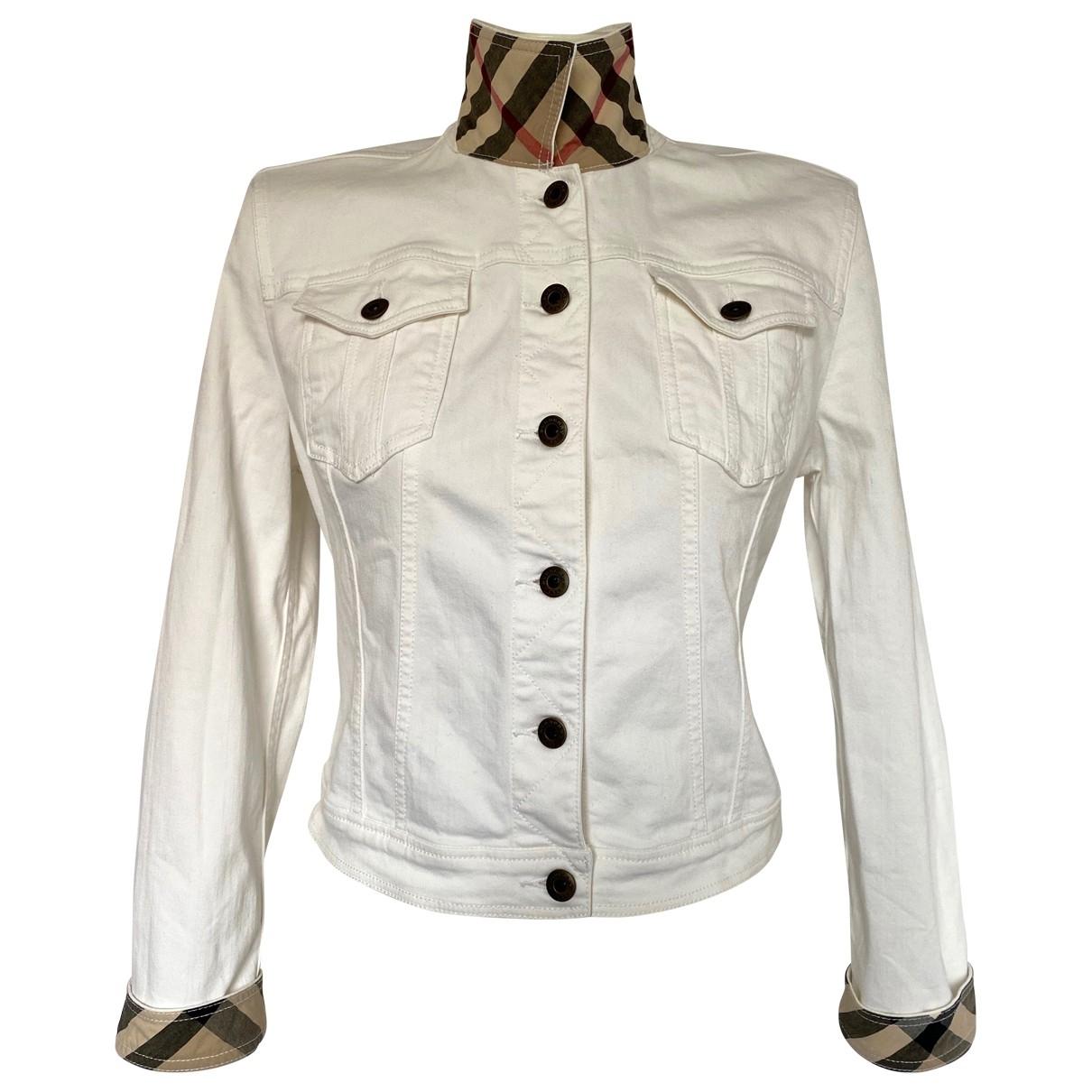 Burberry \N White Cotton jacket for Women M International