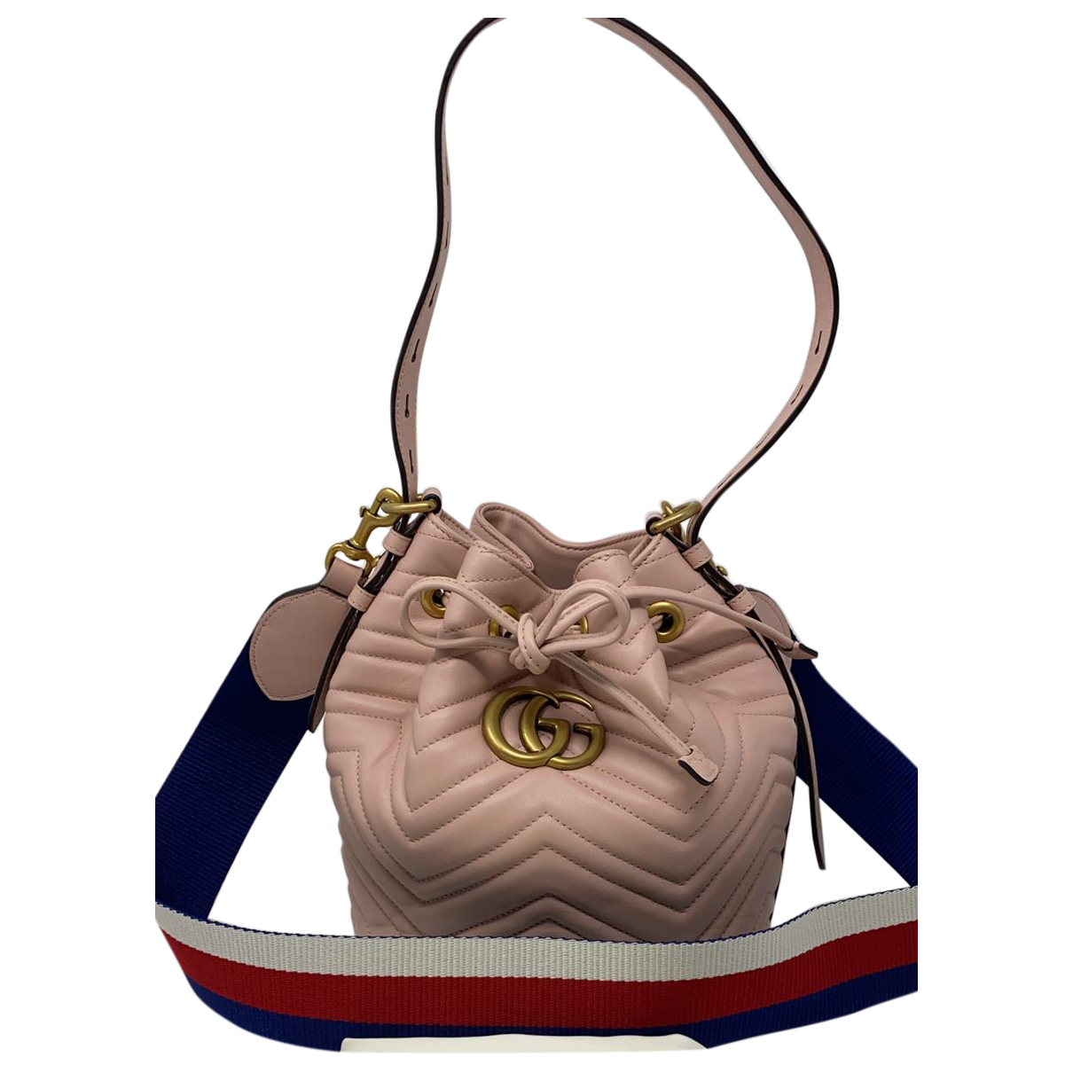 Gucci Marmont Pink Leather handbag for Women N