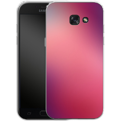 Samsung Galaxy A5 (2017) Silikon Handyhuelle - Coral Swirl von #basic