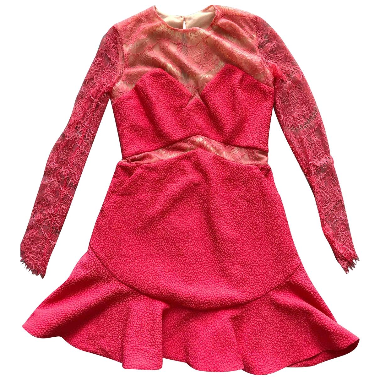 Three Floor Fashion \N Kleid in  Rosa Spitze