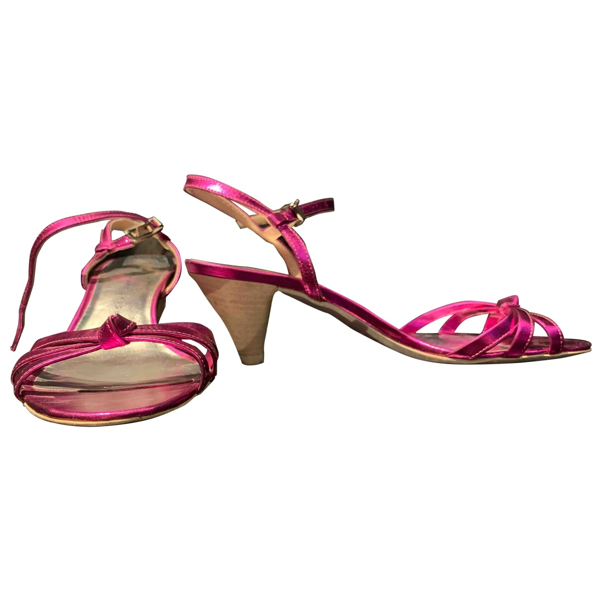 Marc By Marc Jacobs \N Pumps in  Rosa Leder