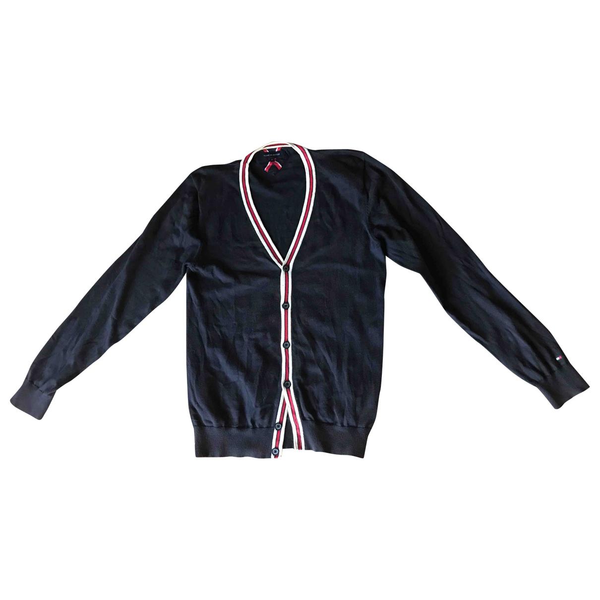 Tommy Hilfiger \N Blue Cotton Knitwear & Sweatshirts for Men M International
