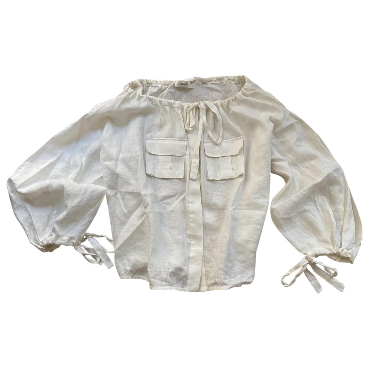 Camisa de Lino Zimmermann