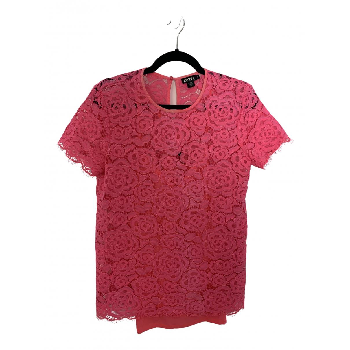 Dkny - Top   pour femme - rose