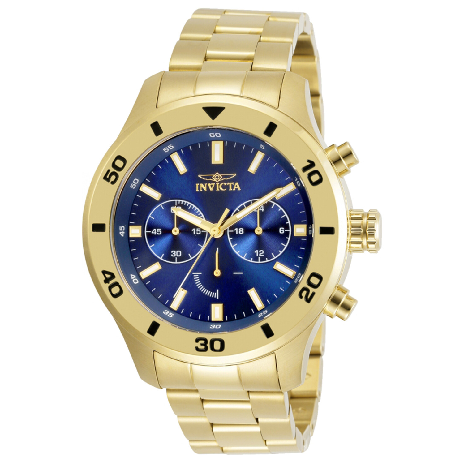 Invicta Men's Specialty 28892 Gold Stainless-Steel Japanese Quartz Dress Watch