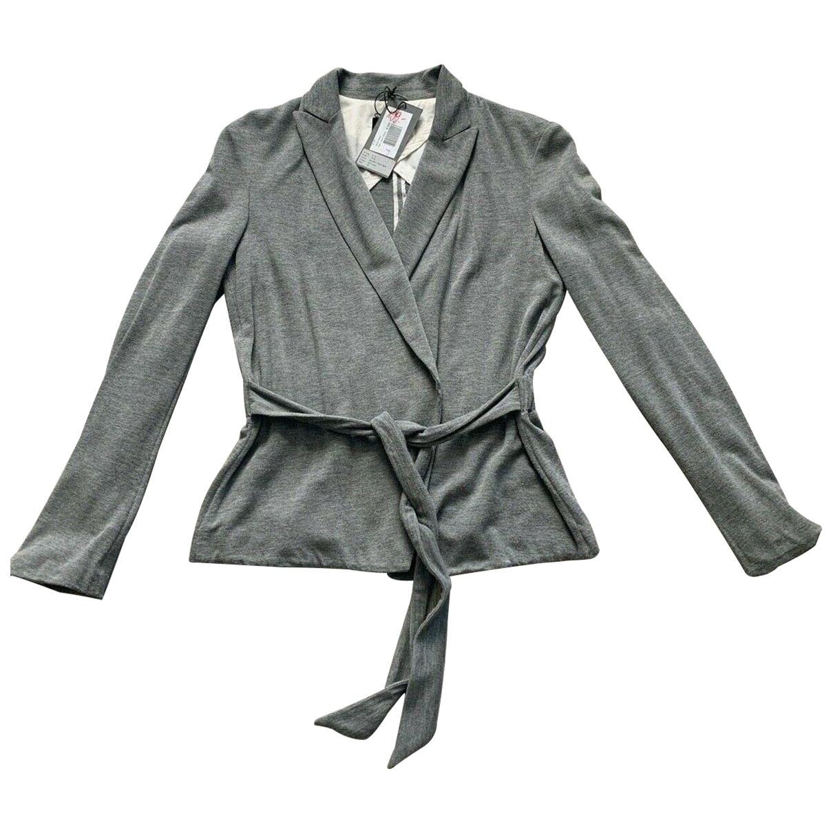 Odeeh - Veste   pour femme en cachemire - gris