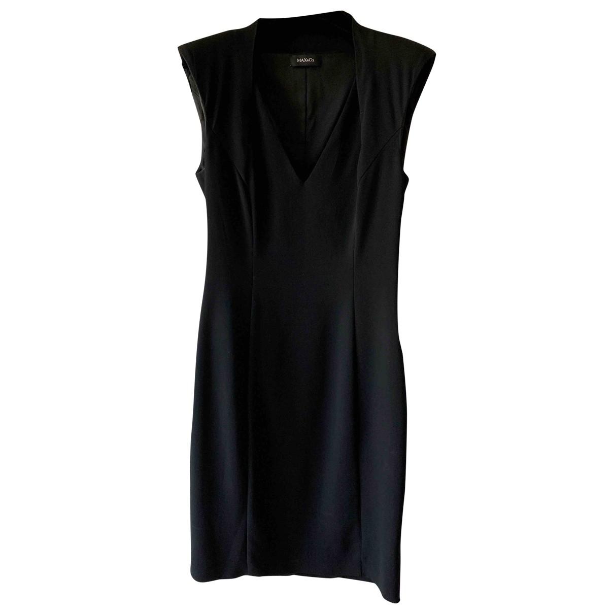 Max & Co \N Black dress for Women 40 IT