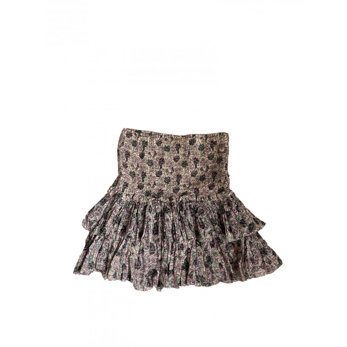 Isabel Marant Etoile \N Multicolour Cotton skirt for Women 40 FR