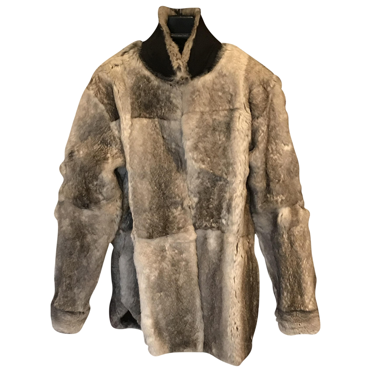 Maison Martin Margiela \N Grey Fur coat for Women 42 FR