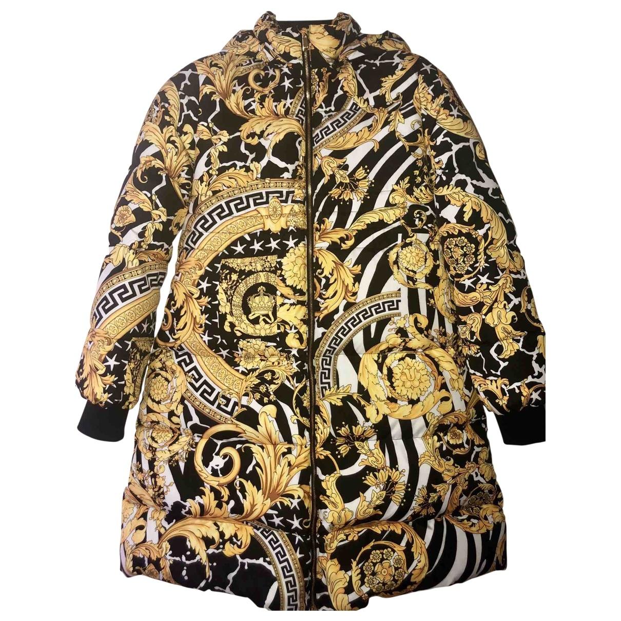 Versace - Manteau   pour femme - jaune