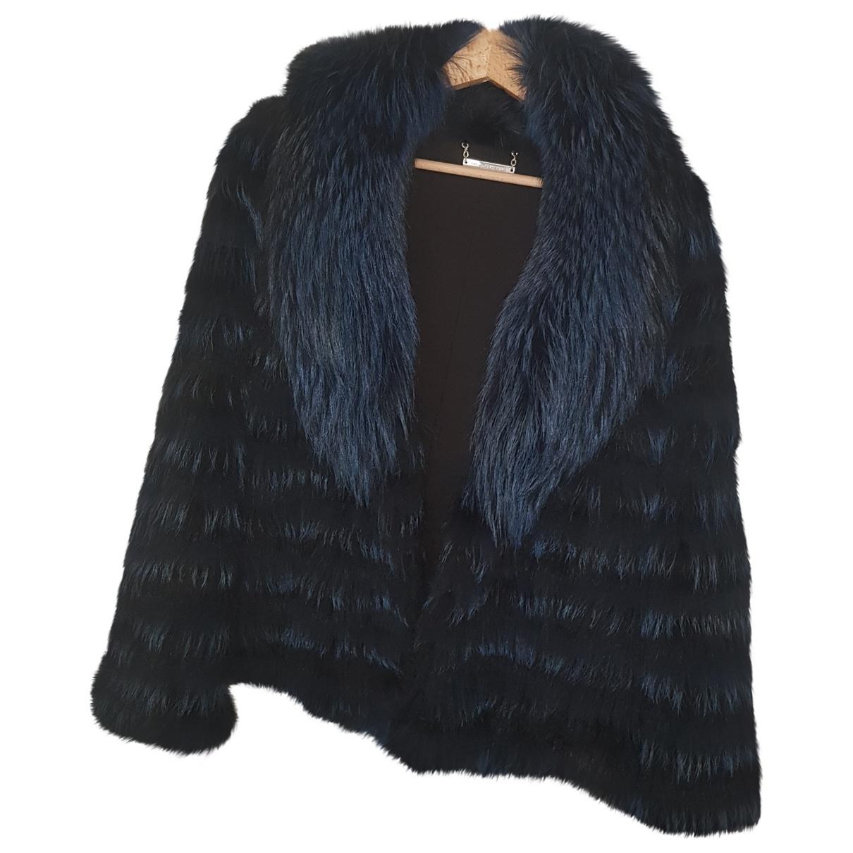 Diane Von Furstenberg \N Blue Fox coat for Women S International
