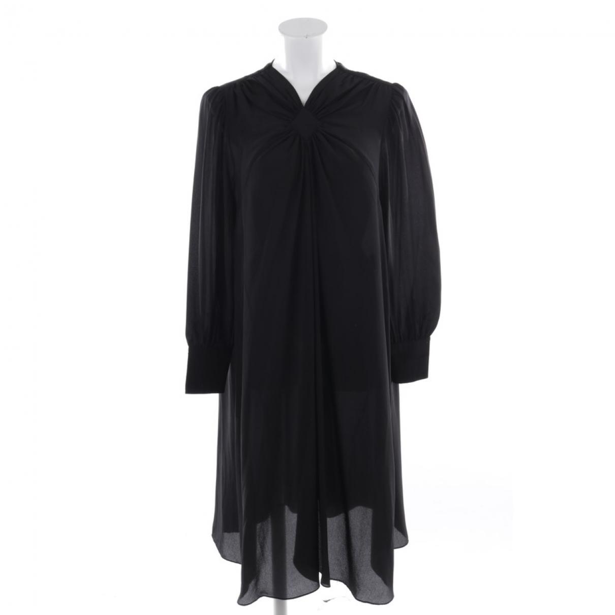 Isabel Marant Etoile \N Black Silk dress for Women 36 FR