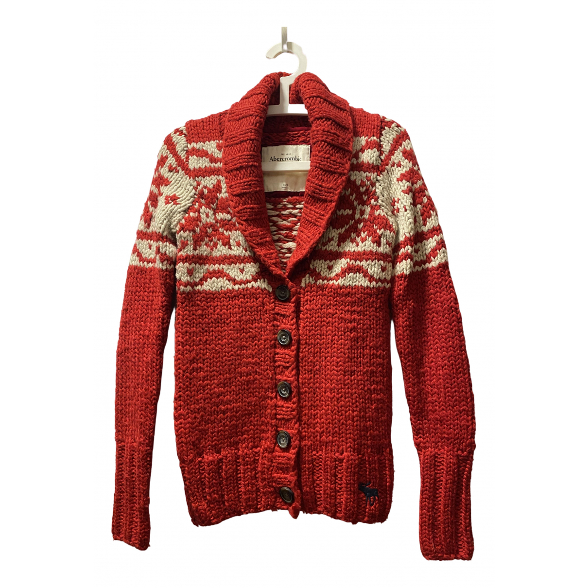 Abercrombie & Fitch \N Pullover in  Bunt Wolle
