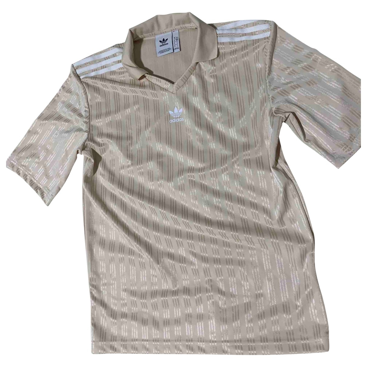 Adidas \N Top in  Gold Polyester