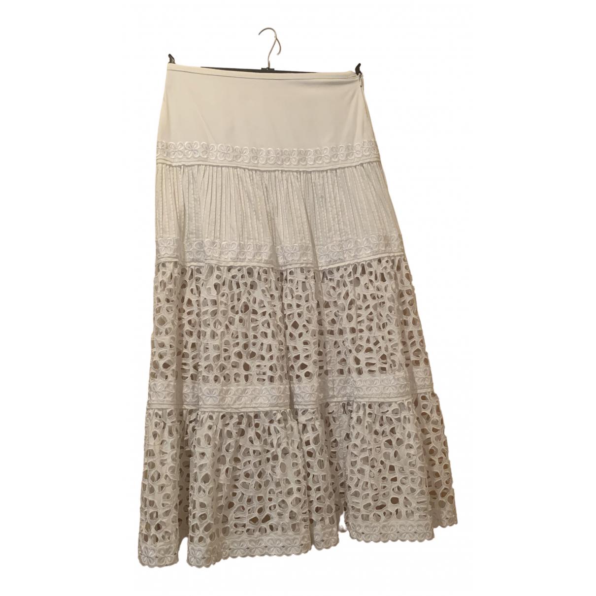 Catherine Malandrino \N White Cotton skirt for Women 10 UK