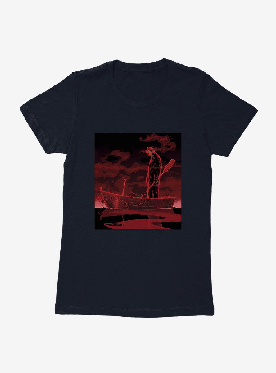 Friday The 13th Jason Canoe Womens T-Shirt