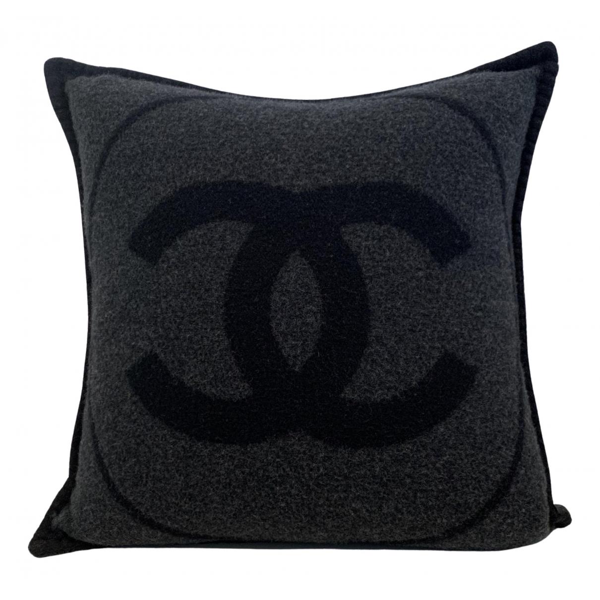 Chanel - Linge de maison   pour lifestyle en cachemire - gris