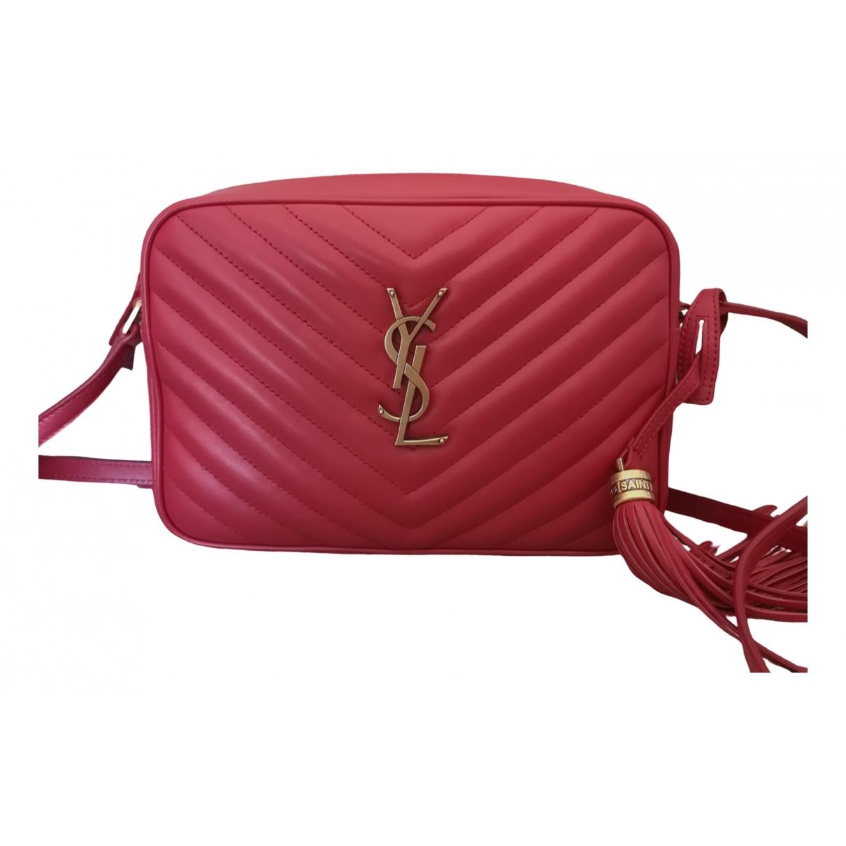 Saint Laurent \N Handtasche in  Rot Leder
