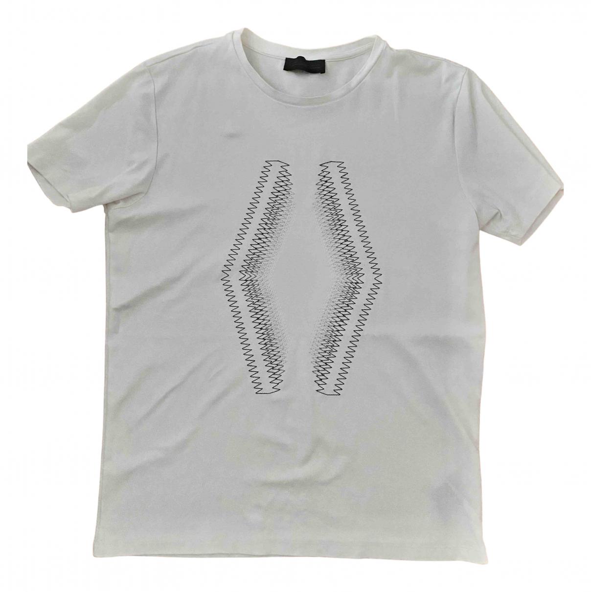 Diesel Black Gold - Tee shirts   pour homme en coton - blanc