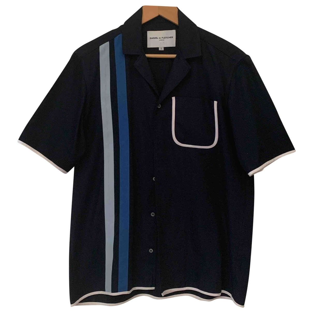 Non Signé / Unsigned \N Blue Cotton Shirts for Men S International