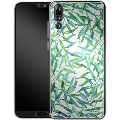 Huawei P20 Pro Silikon Handyhuelle - Palm Print von Becky Starsmore