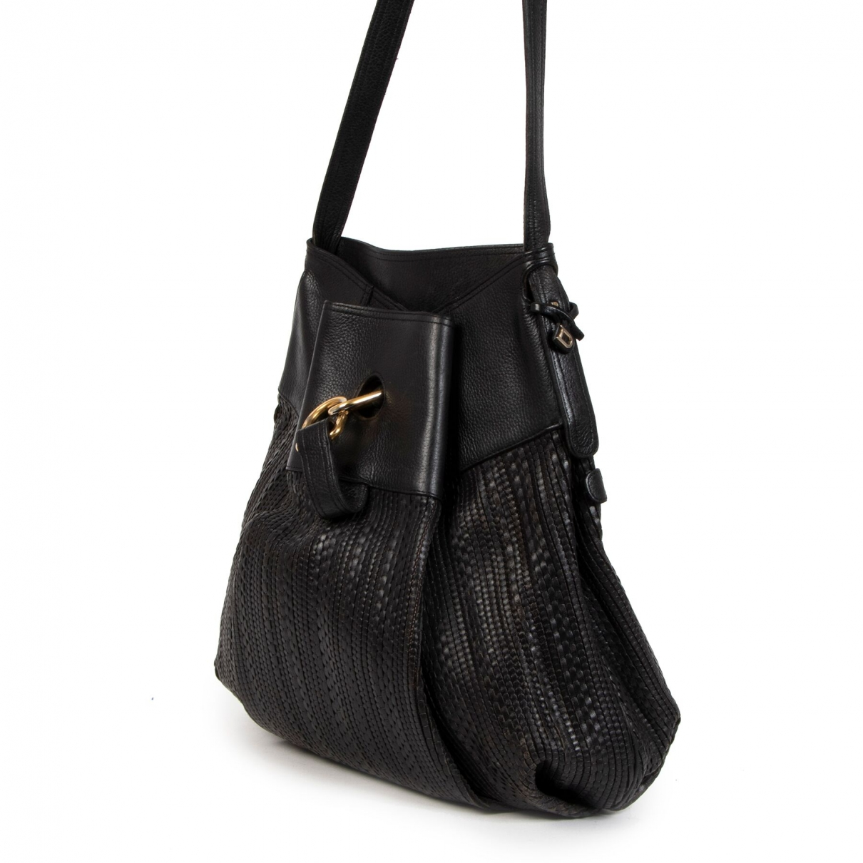 Delvaux \N Black Leather handbag for Women \N