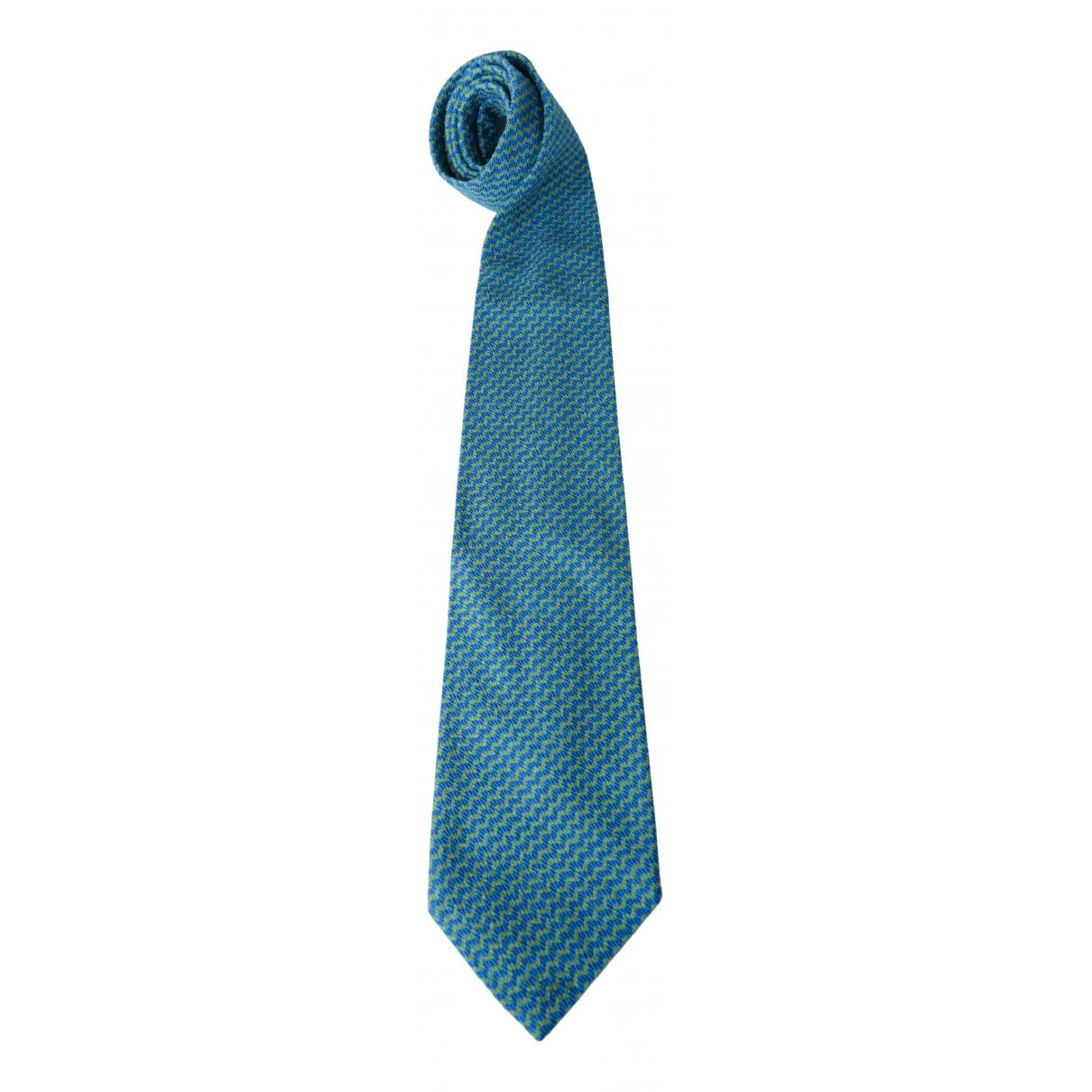 Missoni \N Krawatten in  Blau Seide