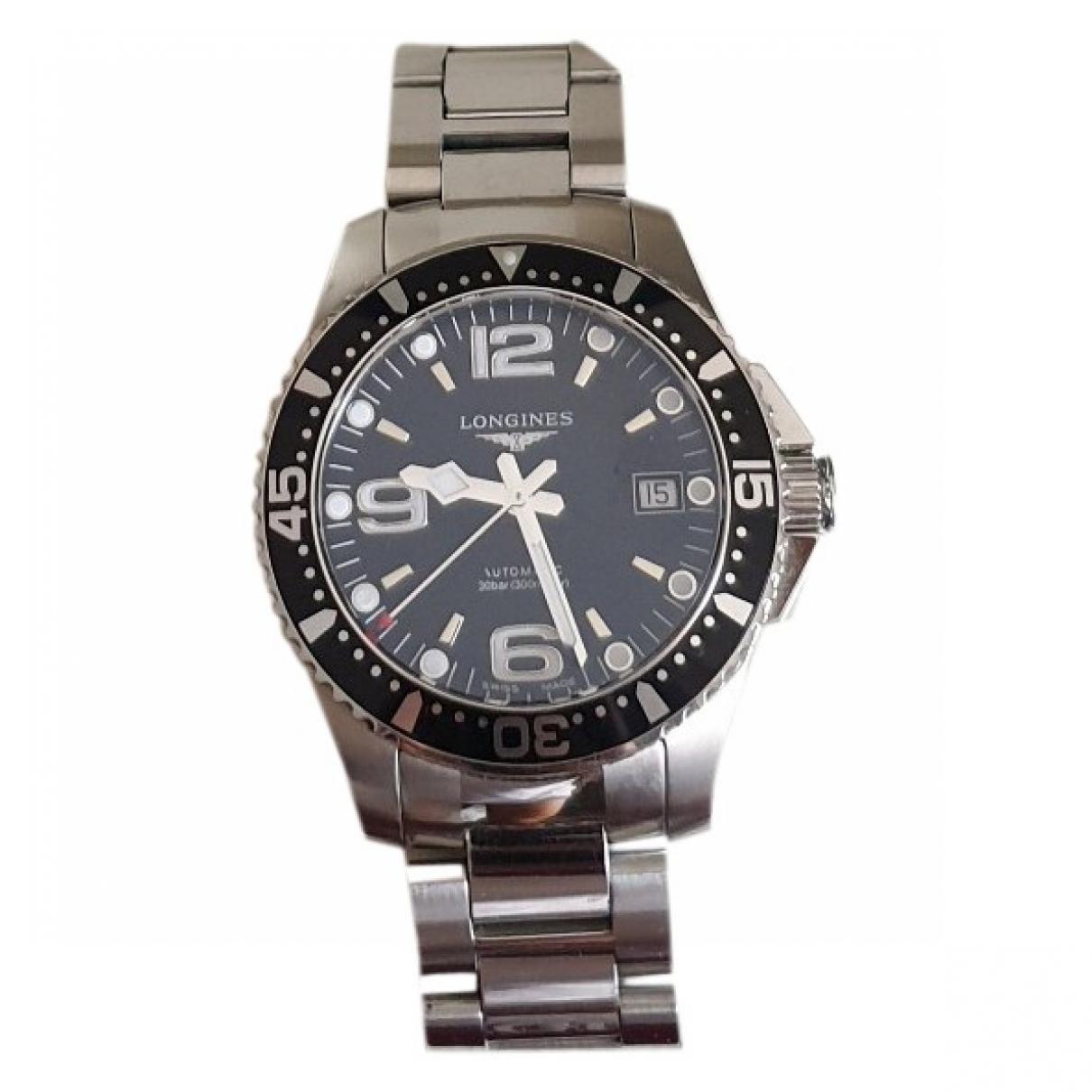 Longines HydroConquest  Uhr in  Silber Stahl