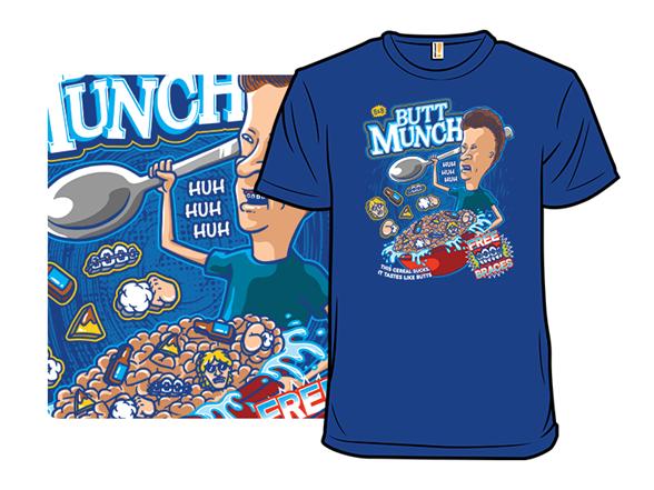 Butt Munch T Shirt