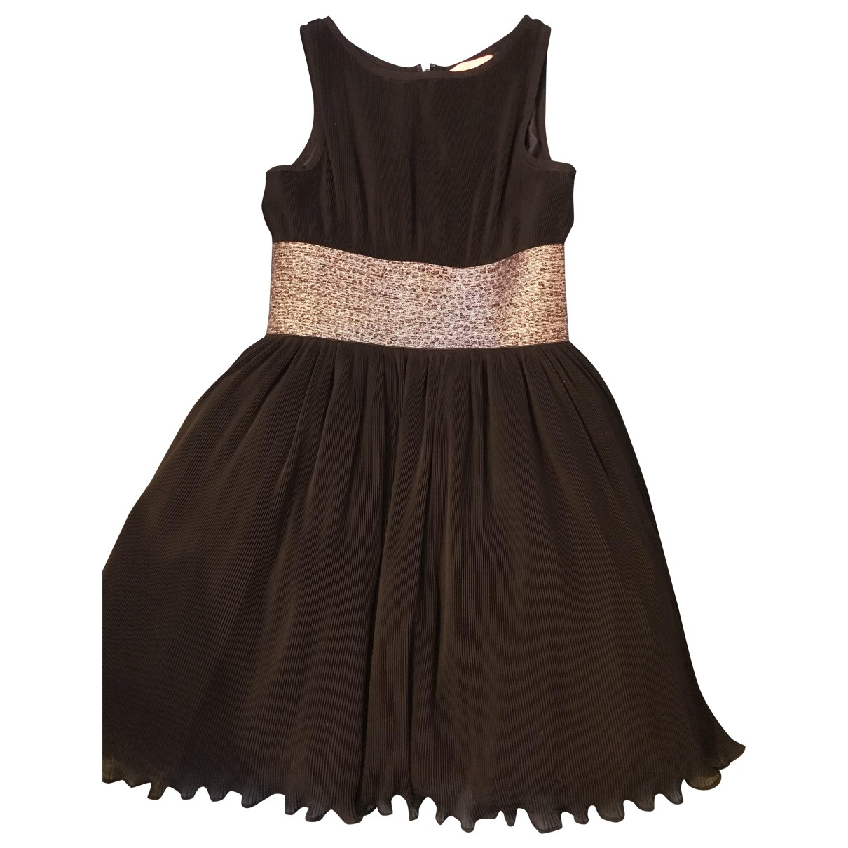 Manoush - Robe   pour femme en coton - elasthane - noir
