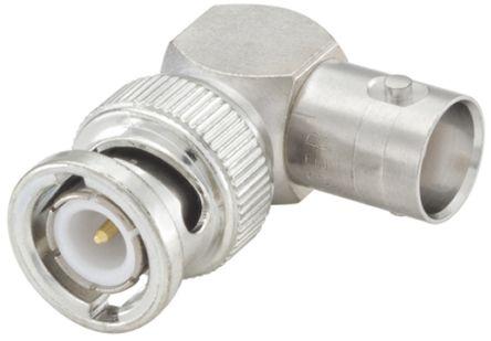 Rosenberger Right Angle 50Ω RF Adapter BNC Plug to BNC Socket 10GHz