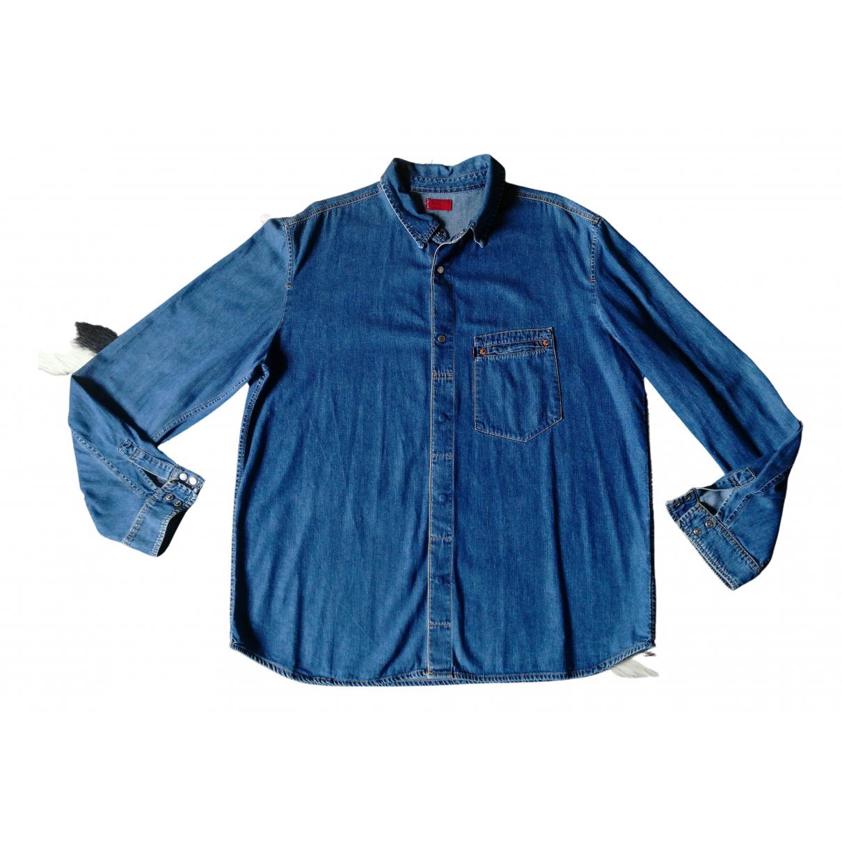 Levis - Chemises   pour homme en denim - bleu