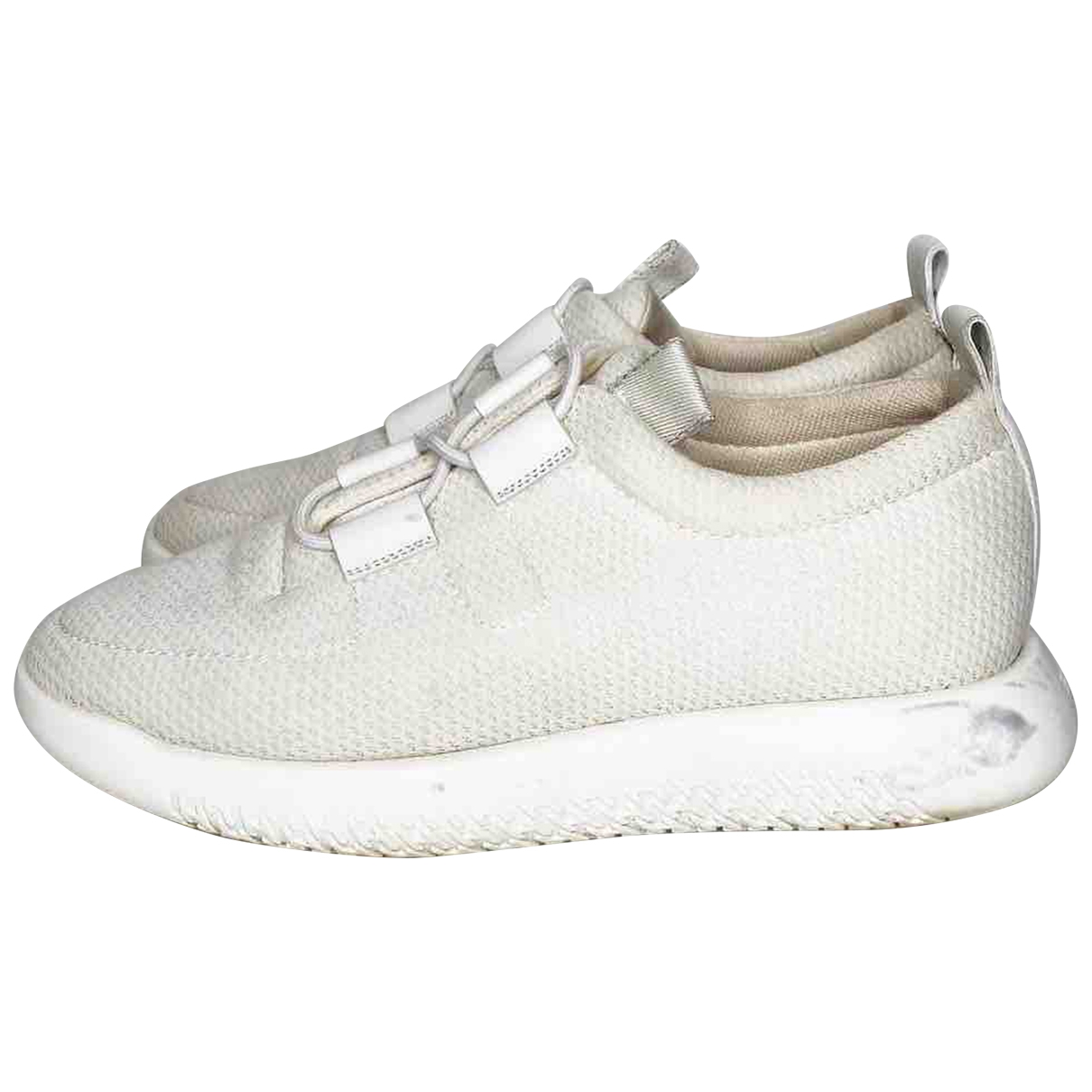 Hermès Team White Cloth Trainers for Women 39 EU