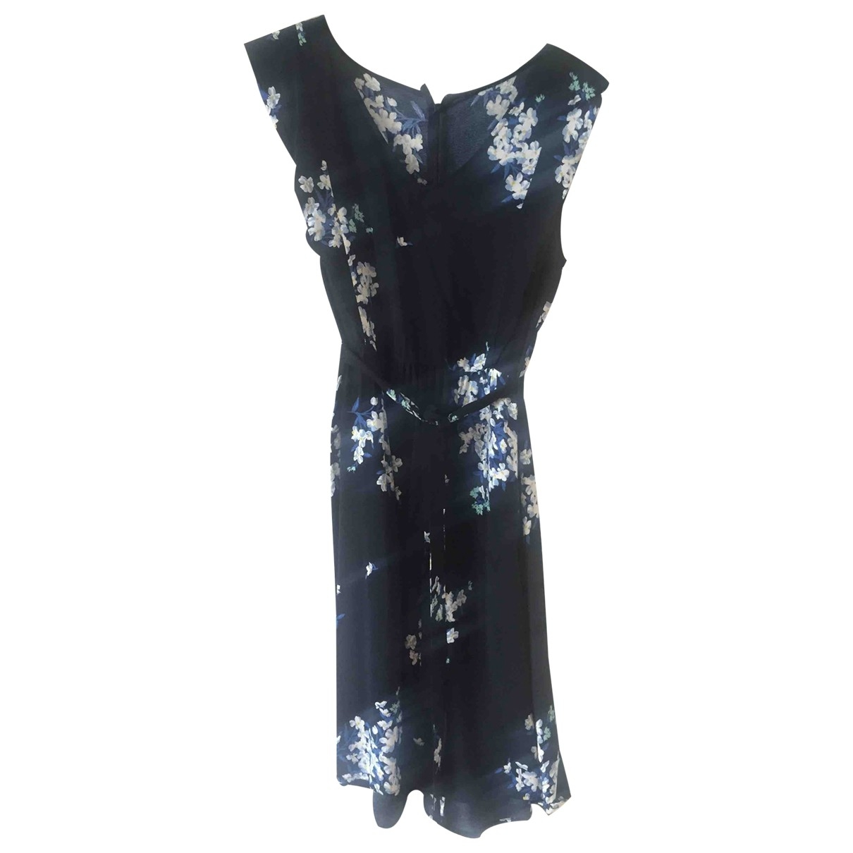 Non Signé / Unsigned \N Navy dress for Women 42 FR