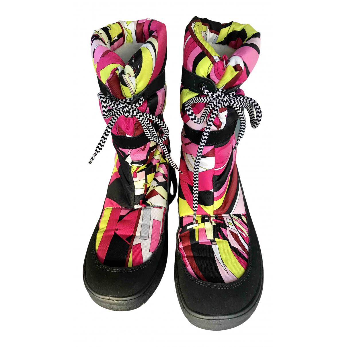 Emilio Pucci \N Multicolour Boots for Women 38 IT