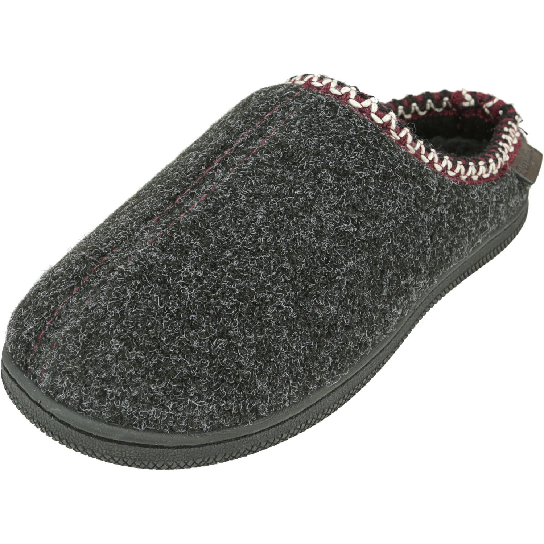 Dearfoams Boy's Inspired Clog Slippers Black Ankle-High Slipper - 5M