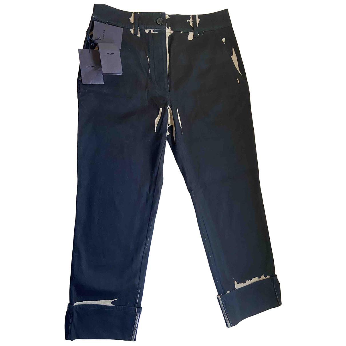Prada N Black Denim - Jeans Jeans for Women 40 FR