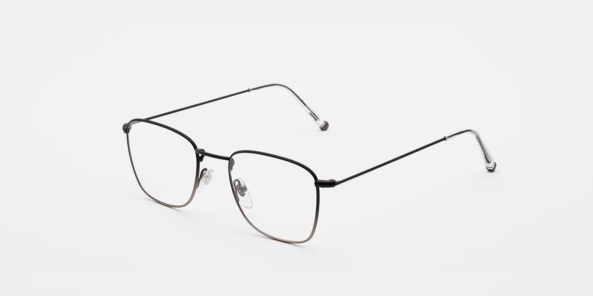 Retrosuperfuture Numero 50 Faded Nero/Argento IBJ6 SU9 Men's Glasses Black Size 50 - Free Lenses - HSA/FSA Insurance - Blue Light Block