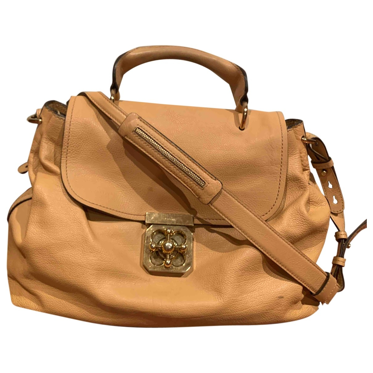 Chloé Elsie Camel Leather handbag for Women \N