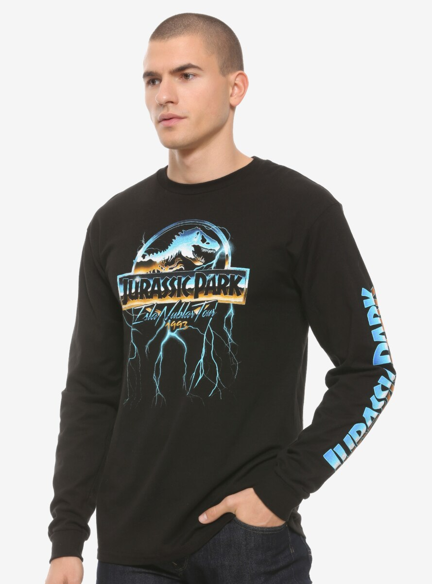 Jurassic Park Isla Nublar Tours Long Sleeve T-Shirt - BoxLunch Exclusive