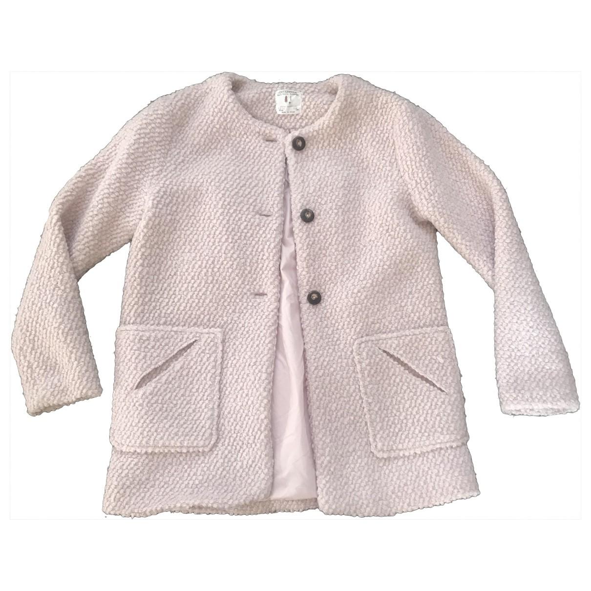 Zara \N Pink Wool jacket & coat for Kids 12 years - XS UK