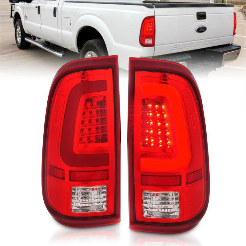 Anzo USA Tail Light Assembly Ford F-250 2015-2016
