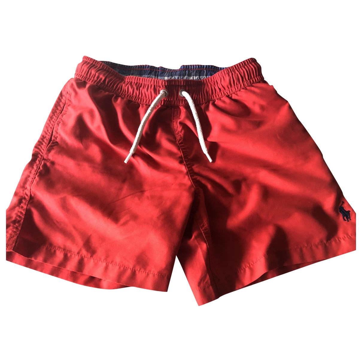 Polo Ralph Lauren \N Red Cotton Shorts for Kids 8 years - until 50 inches UK