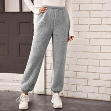 Pantalones Liso Casual