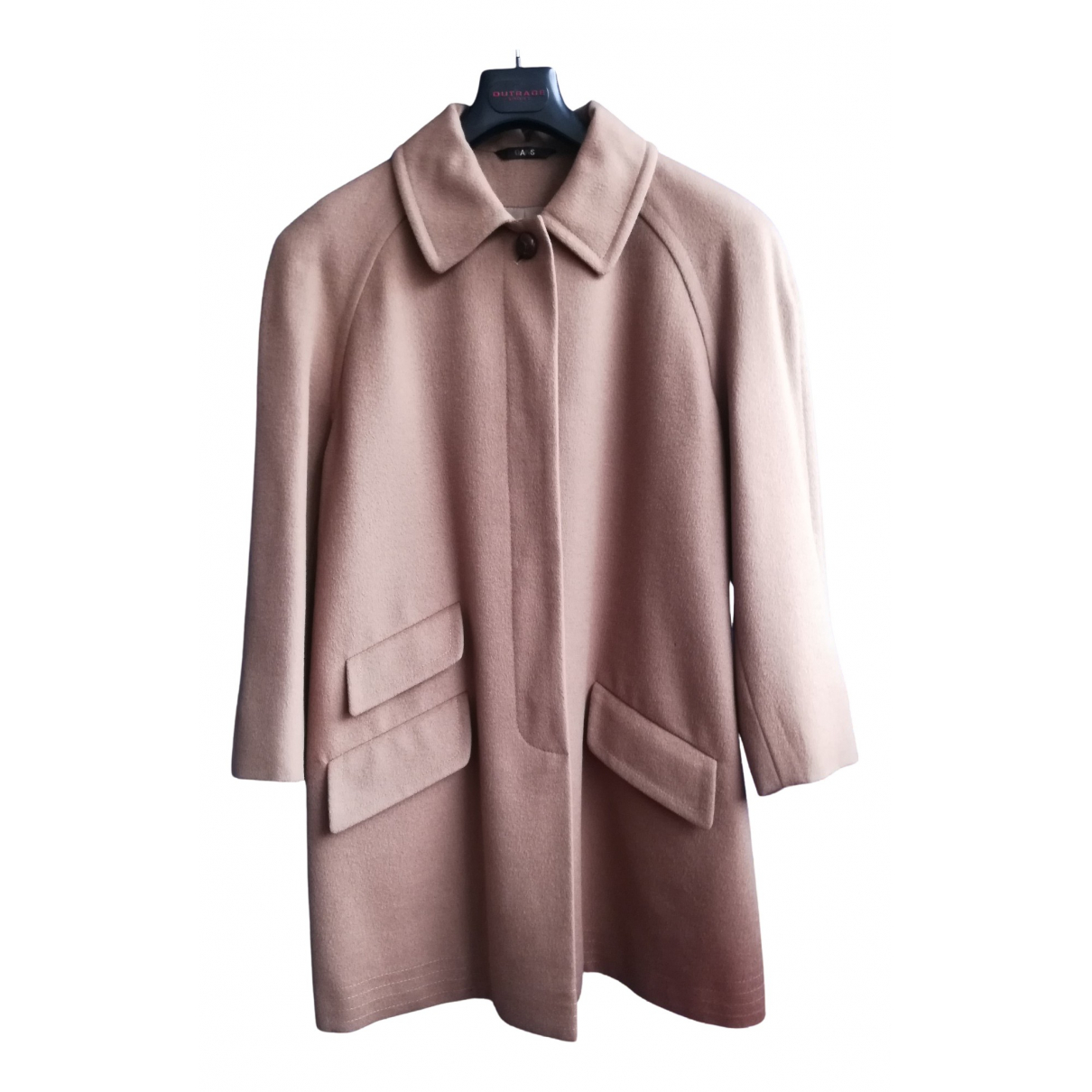Daks N Camel Wool coat for Women 14 UK